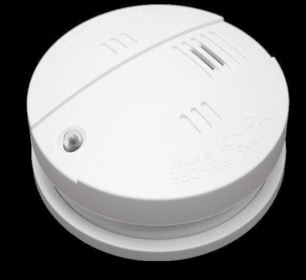 Popp Rauchmelder mit Sirene - DIN EN 14604 und VDS zertifiziert